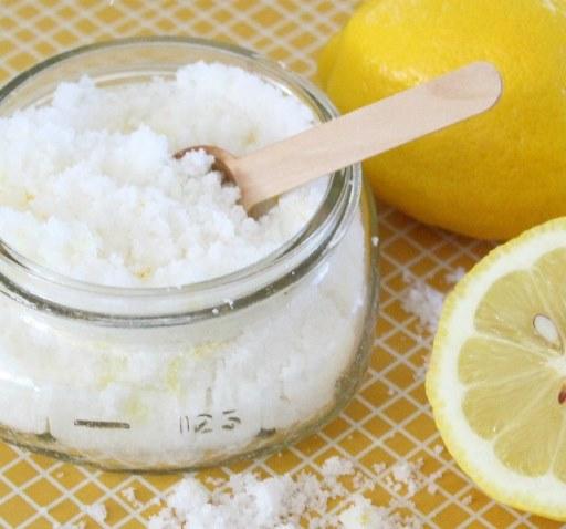Как сделать лимонный сахар