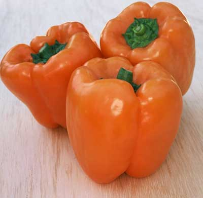 Organic Orange Sunshine Pepper Seeds - 15 Count