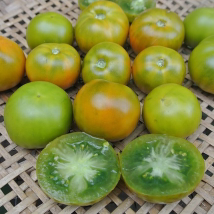 Organic Lime Green Tomato Seeds - 20 Count